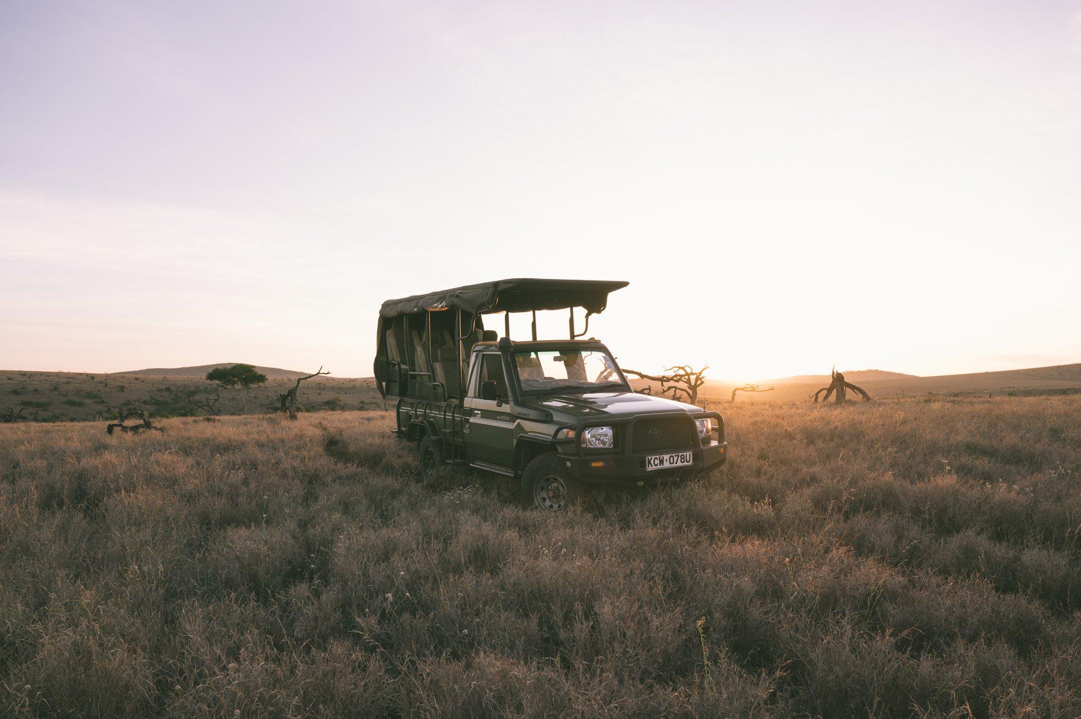 Sunrise at Lewa Wildlife Conservancy Kenya