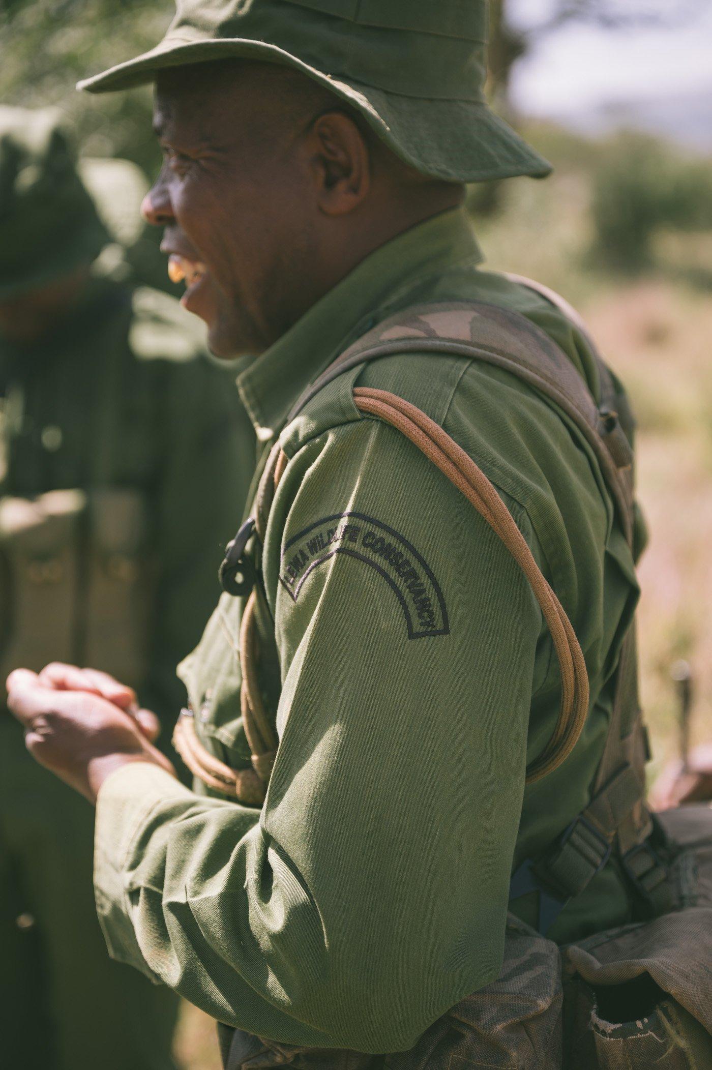 Ranger at Lewa Wildlife Conservancy Kenya