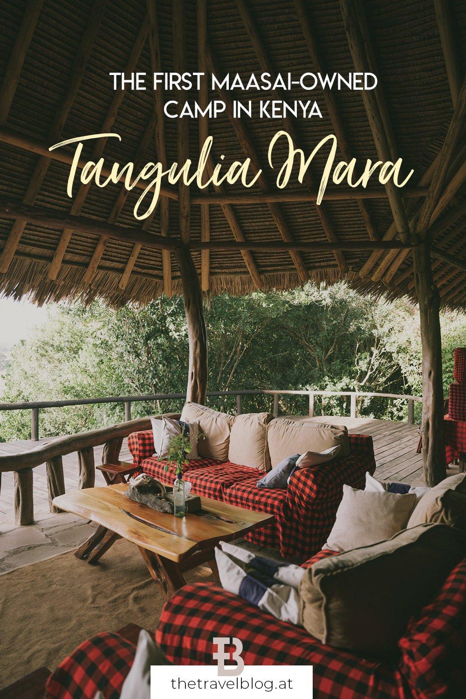 Tangulia Mara: The first Maasai owned camp in the Maasai Mara in Kenya