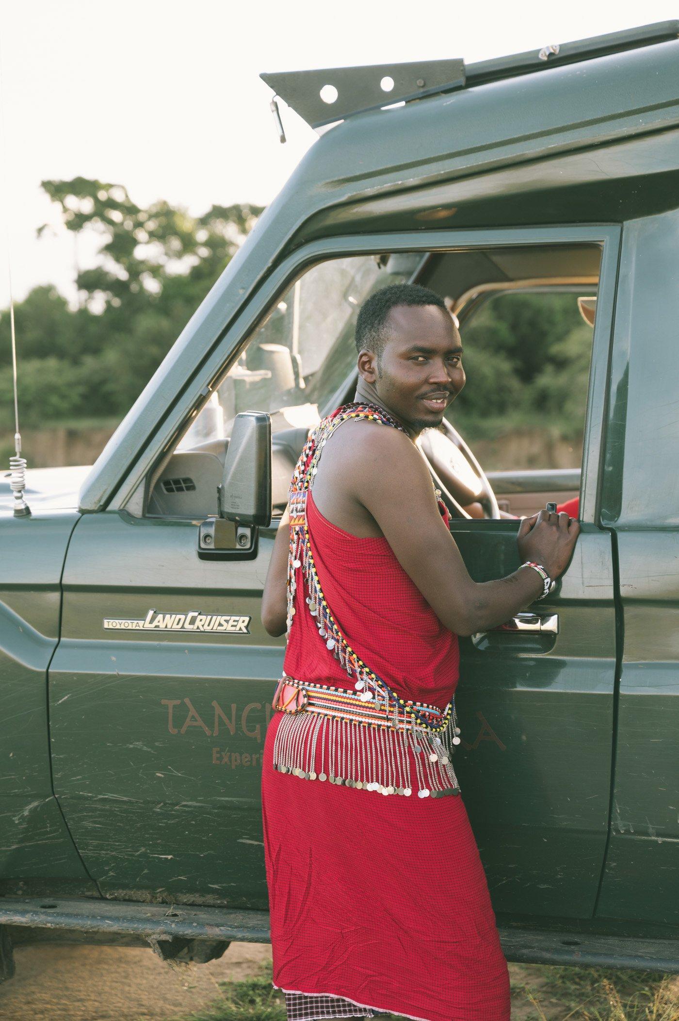 Our spotter Dalton from Tangulia Mara Camp in the Maasai Mara in Kenya