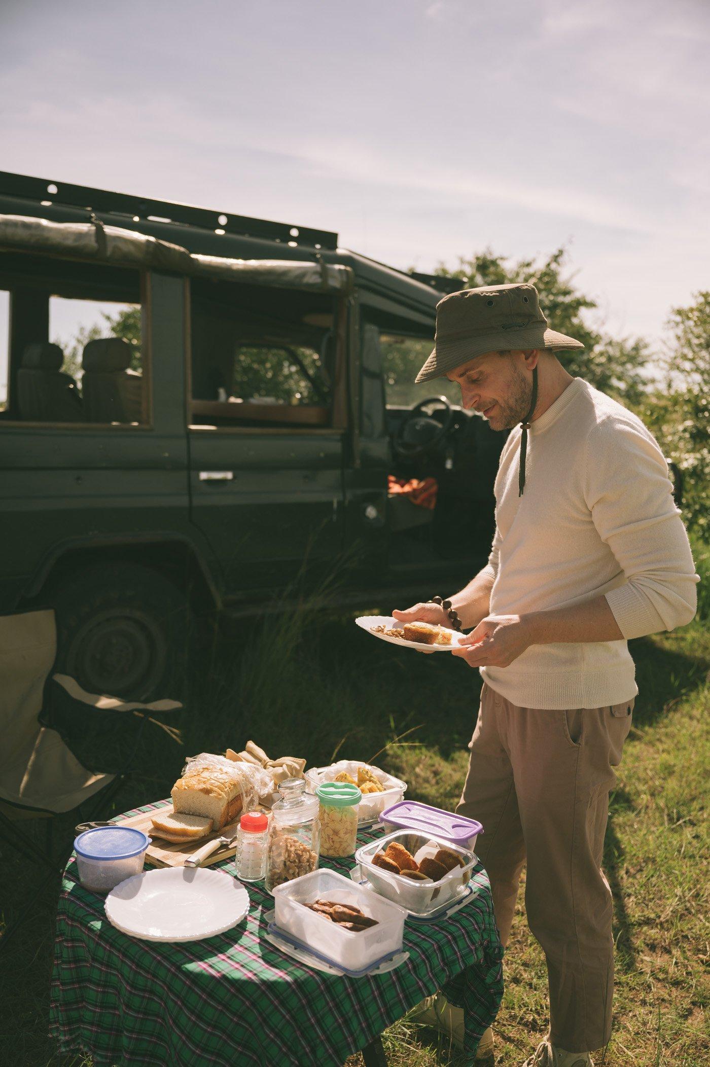 Bush Breakfast at Tangulia Mara Camp in the Maasai Mara in Kenya