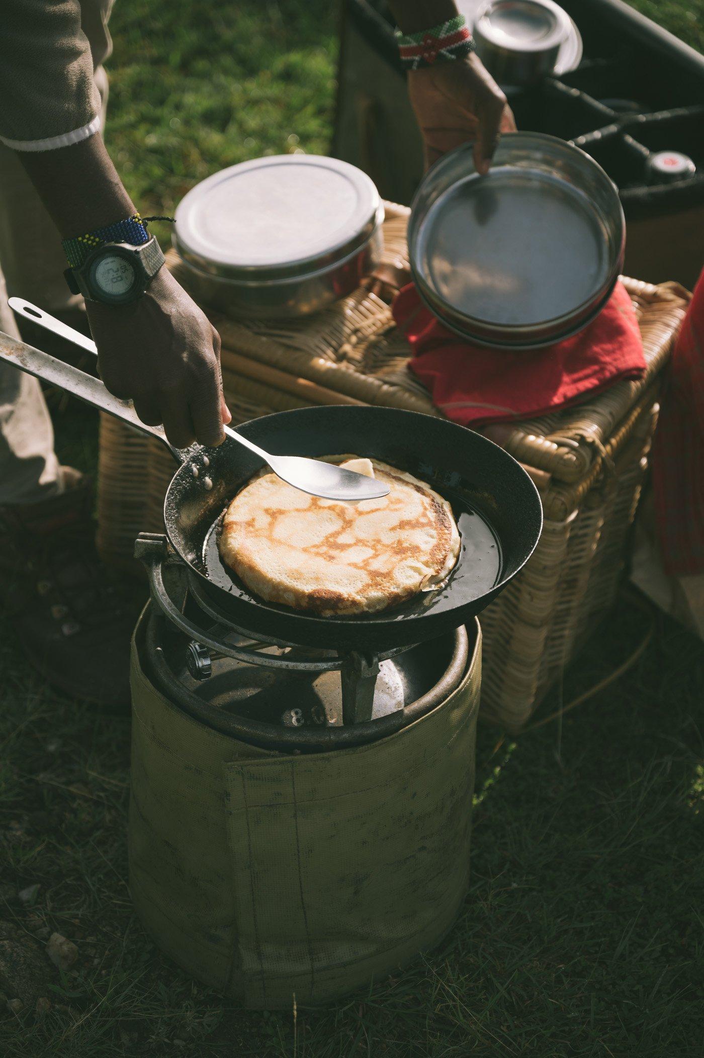 Bush breakfast at andBeyond Bateleur Camp Maasai Mara Kenya