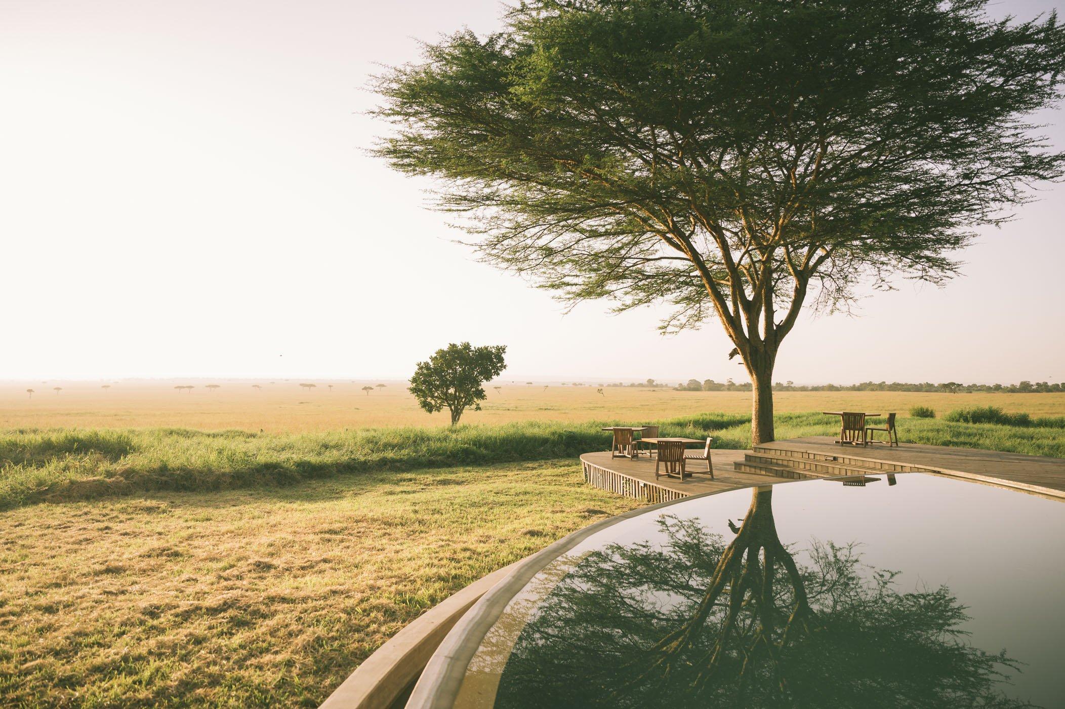 infinity Pool at andBeyond Bateleur Camp Maasai Mara Kenya