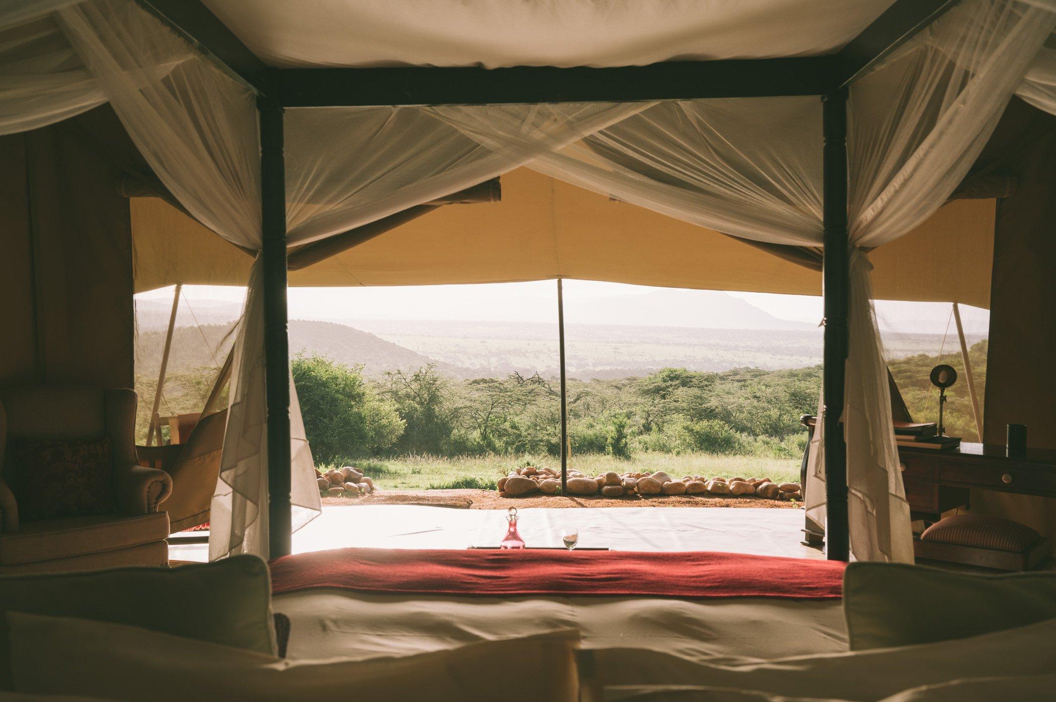 Cottar's 1920s safari camp in the Maasai Mara in Kenya