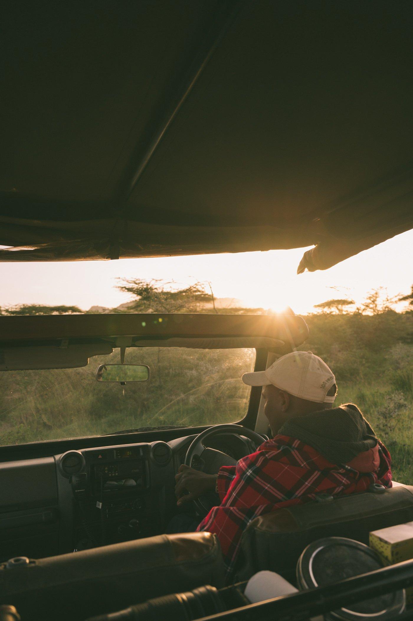 On safari with Cottar's in the Maasai Mara in Kenya