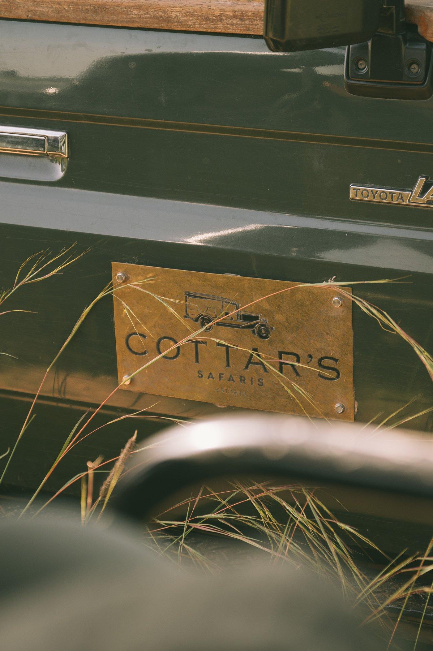 Cottar's safari vehicle