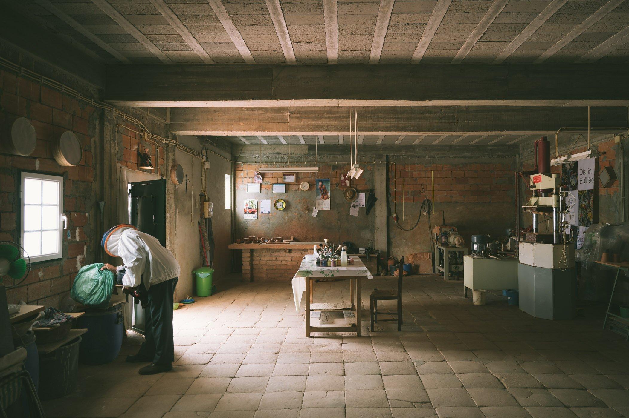 Olaria Bulhão pottery workshop in Alentejo Portugal