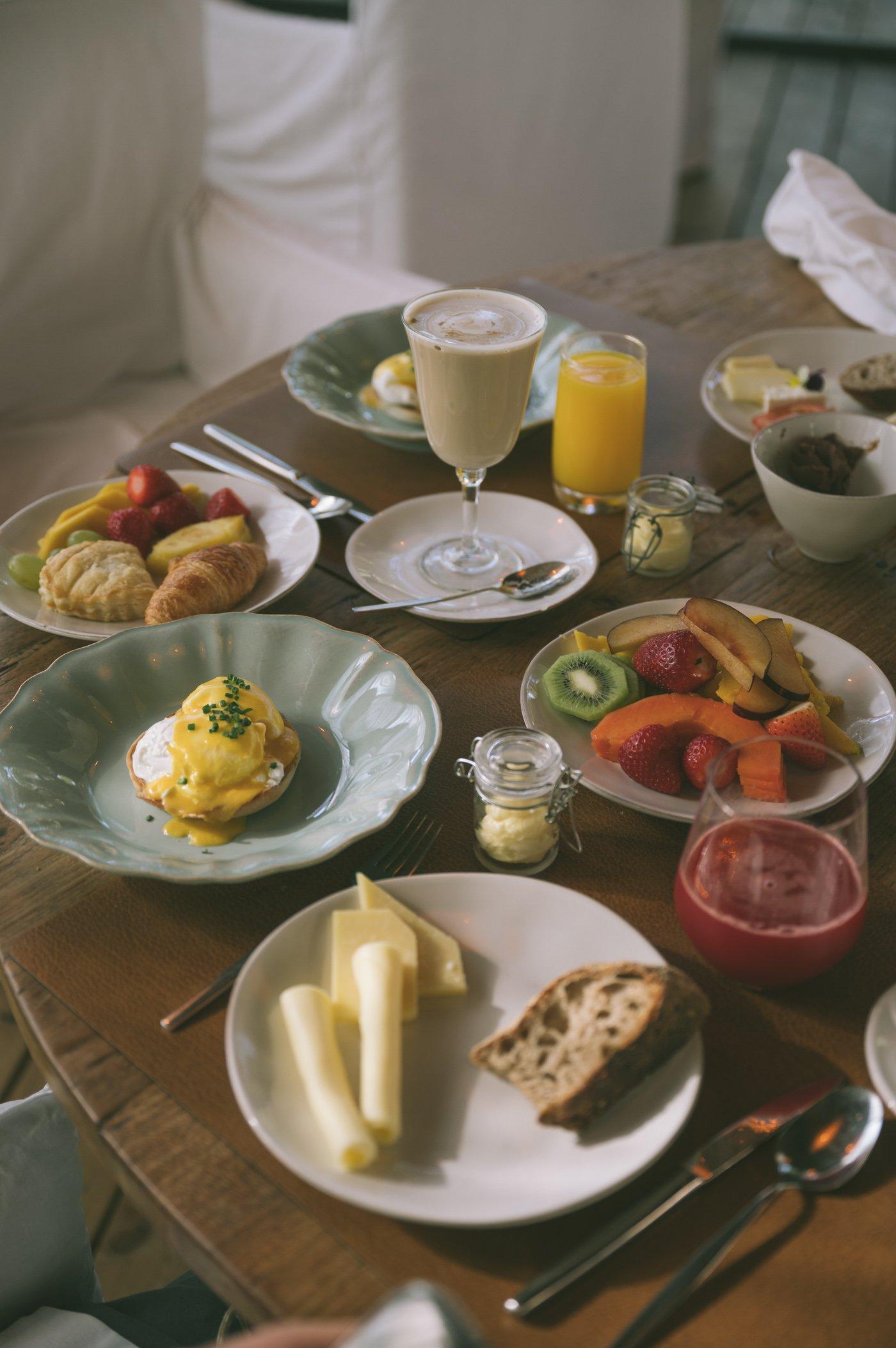Breakfast at Sem Porta Restaurant at Sublime Comporta