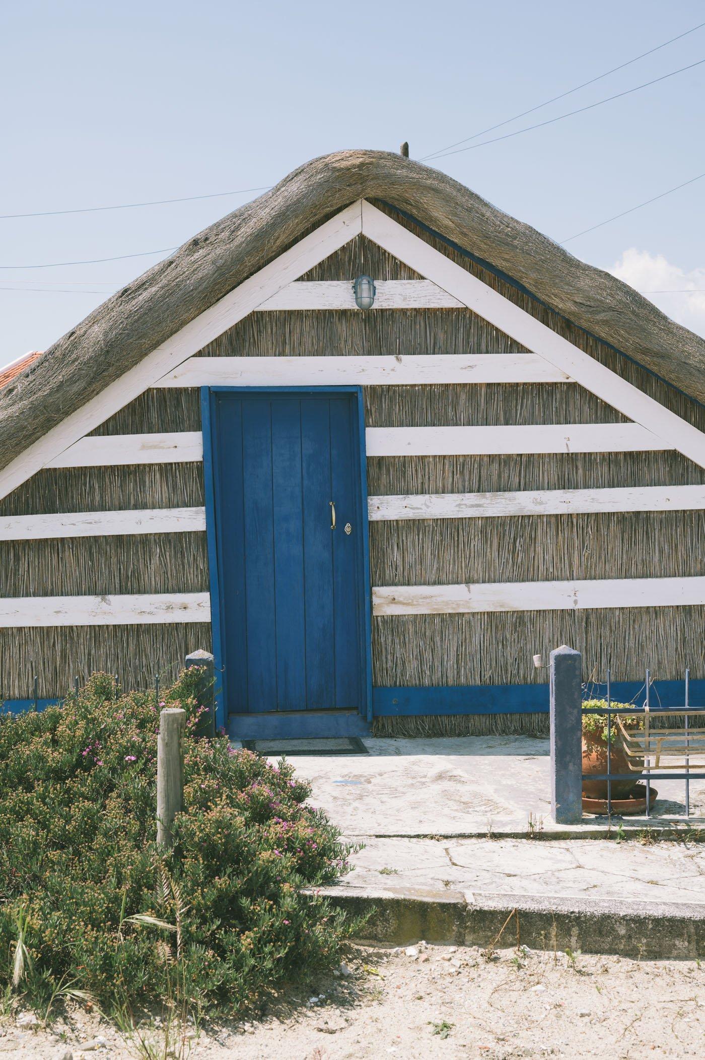 Traditional architecture in Comporta Alentejo Portugal