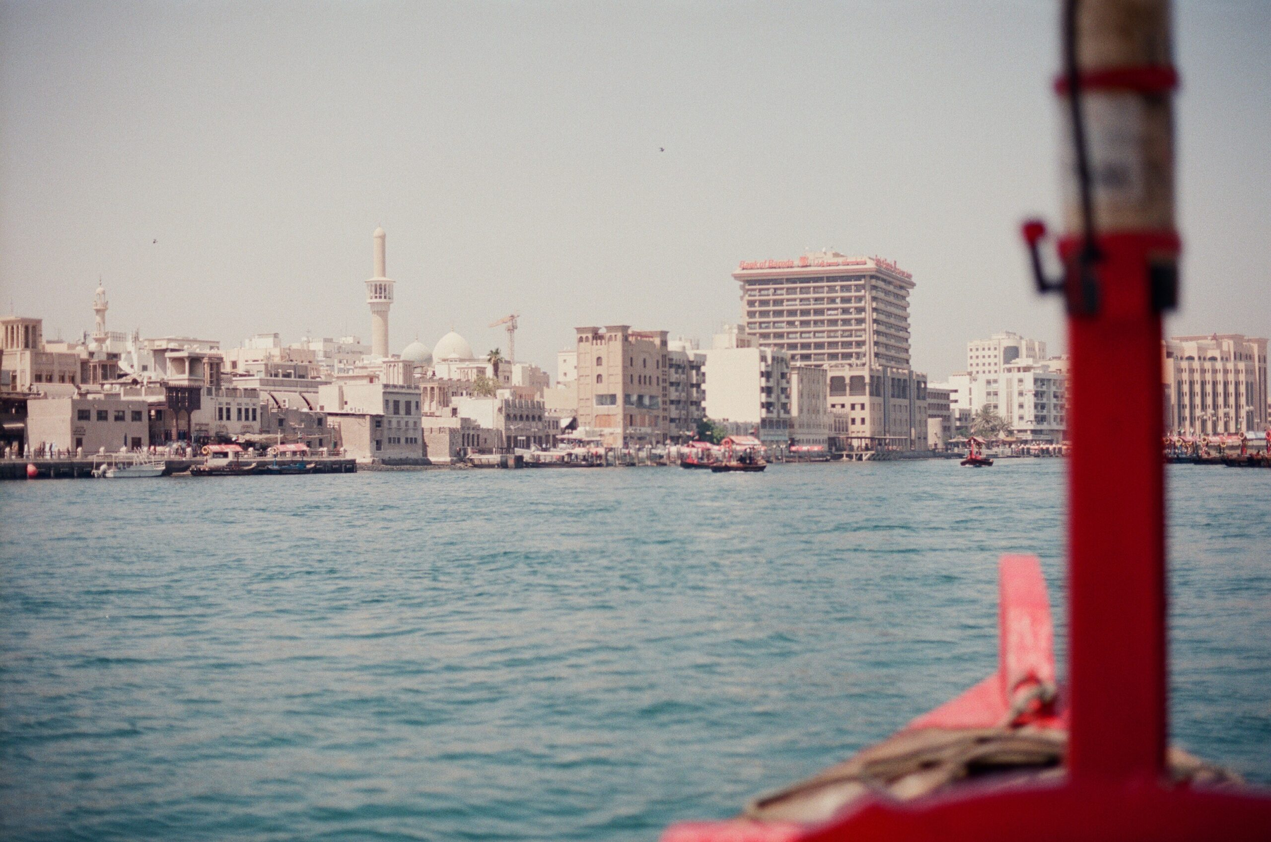 Dubai creek as seen from an Abra boat
