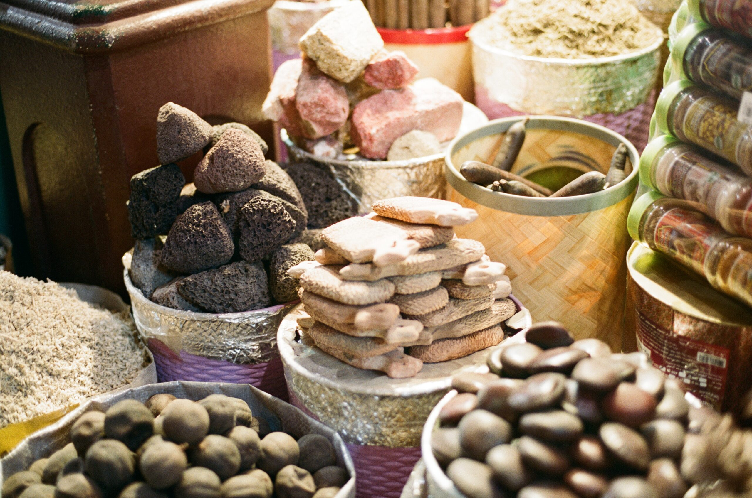 Herbs at the souk of Dubai