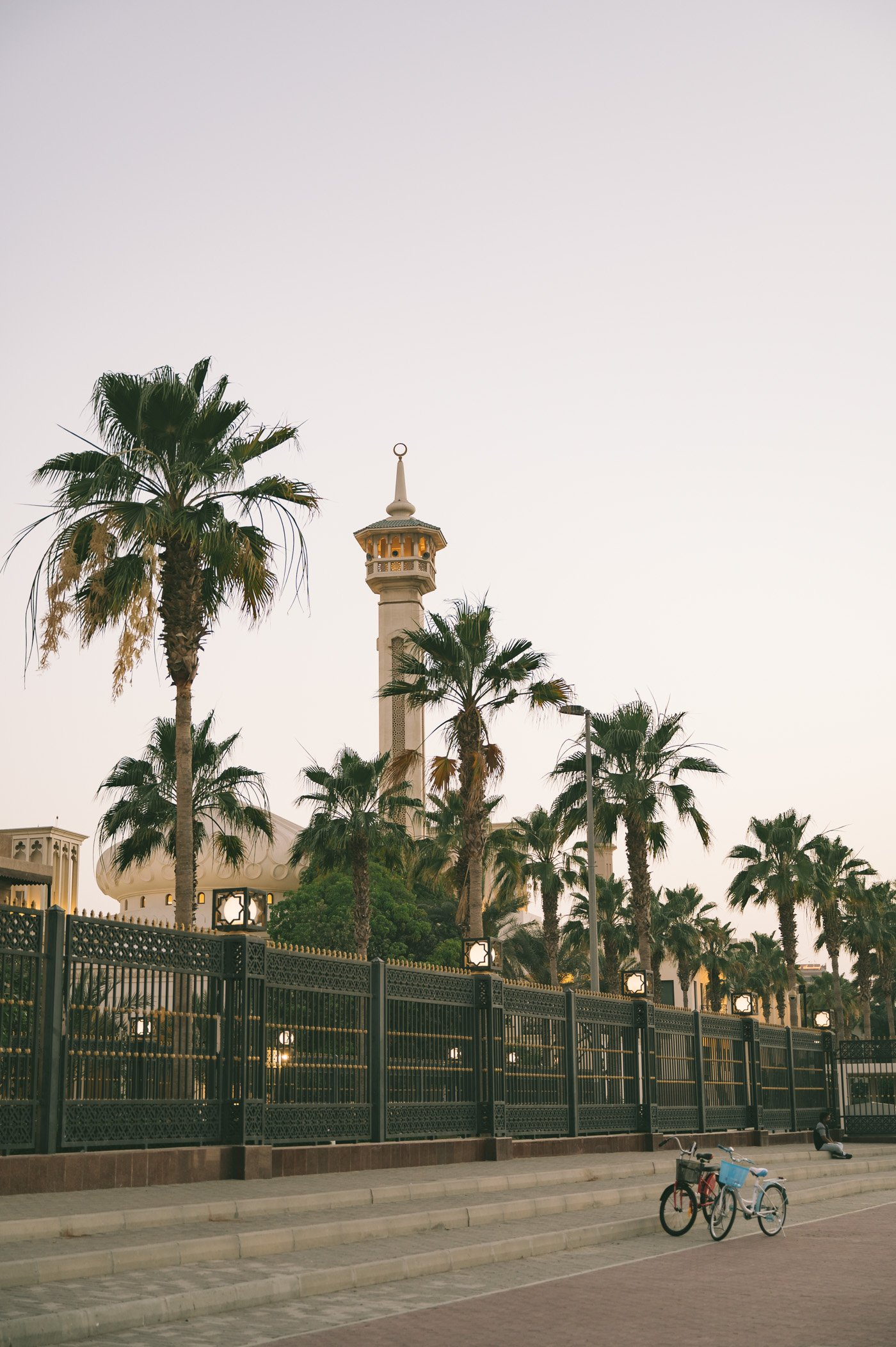 Al Fahidi Dubai after sunset
