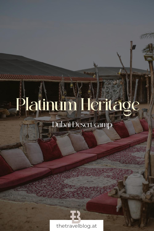Platinum Heritage Desert Camp Dubai