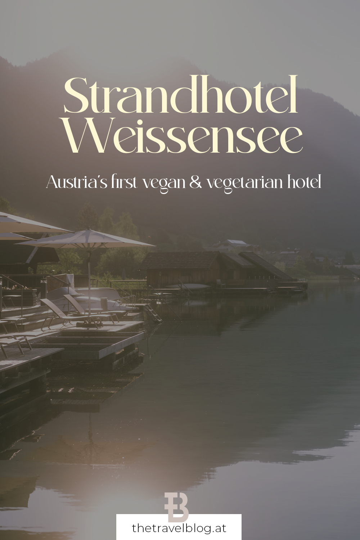 Strandhotel Weissensee - a vegetarian and vegan hotel at lake Weissensee