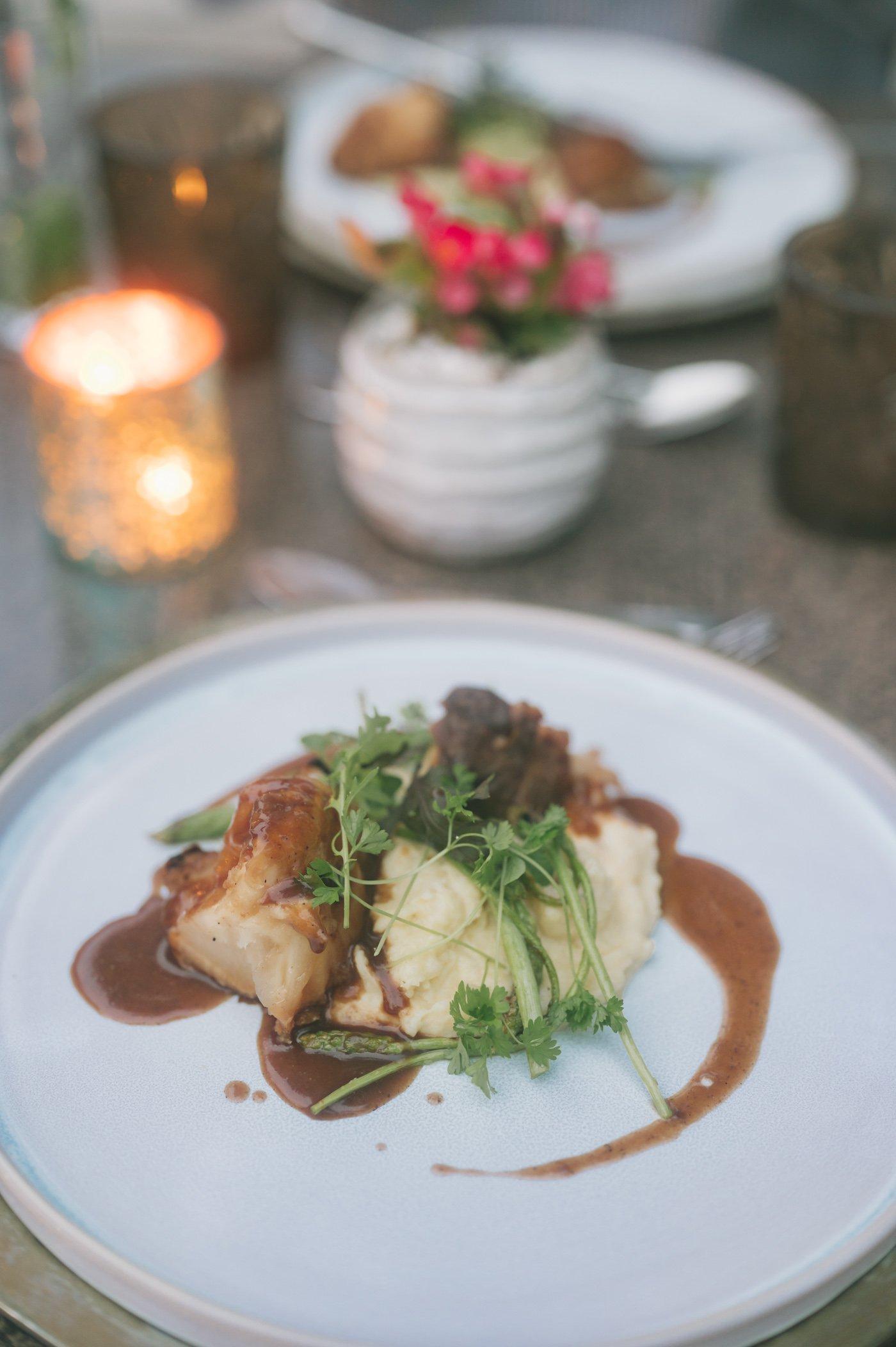 Vegetarian and vegan dinner at Strandhotel Weissensee