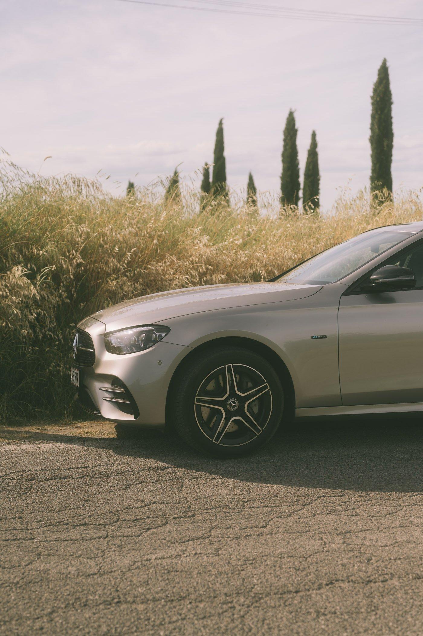 She's Mercedes in Tuscany
