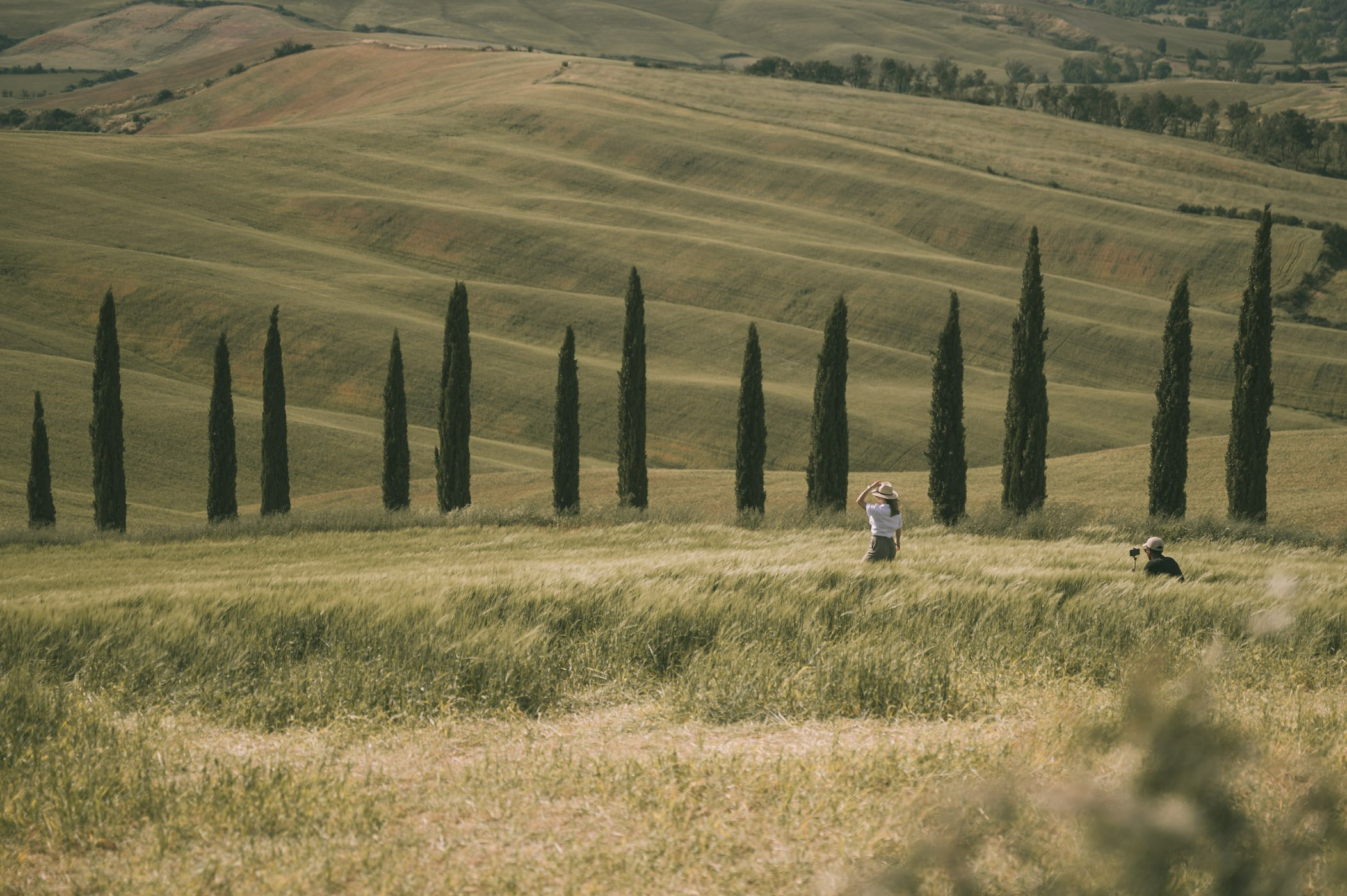Most famous road in Tuscany: Baccoleno-winding road