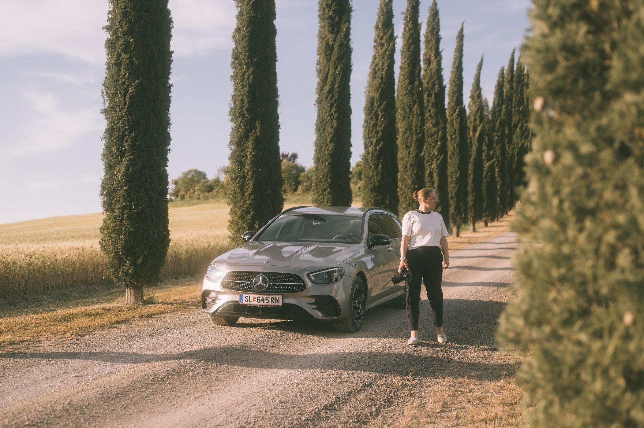 She's Mercedes: Ladyvenom in Tuscany
