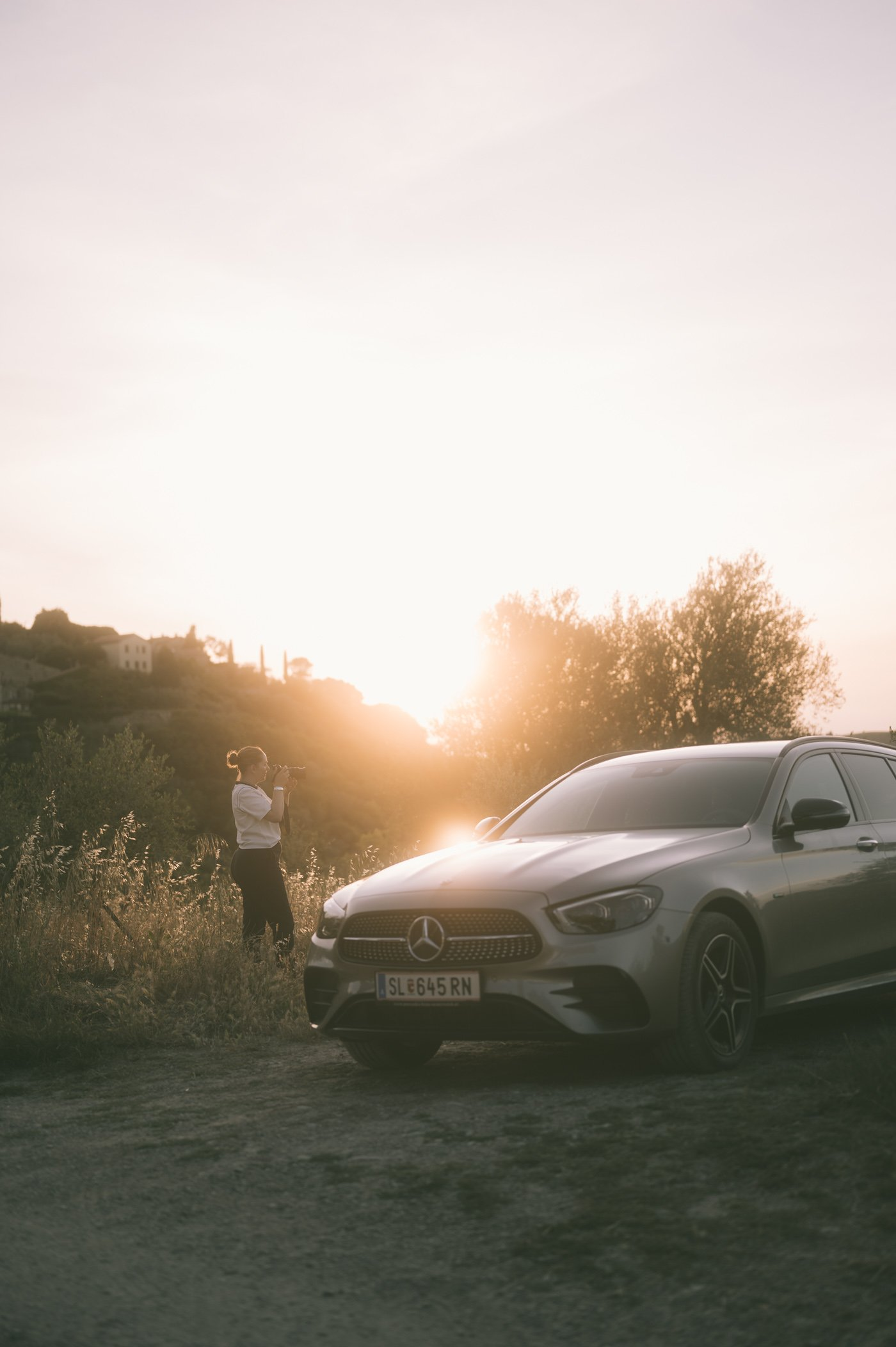 She's Mercedes Ladyvenom in Tuscany